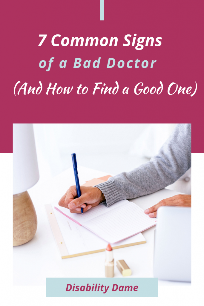 7 Signs of a Bad Doctor