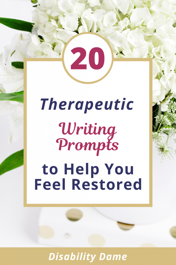 Therapeutic Writing Prompts