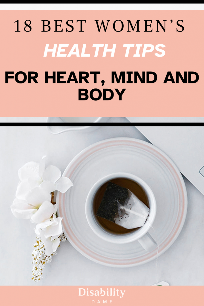 WOMEN'S HEALTH TIPS FOR HEART, MIND AND BODY