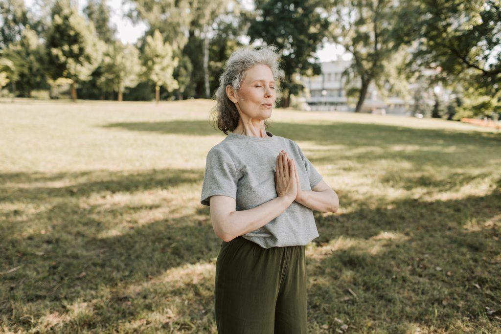 How do you calm an overactive mind?